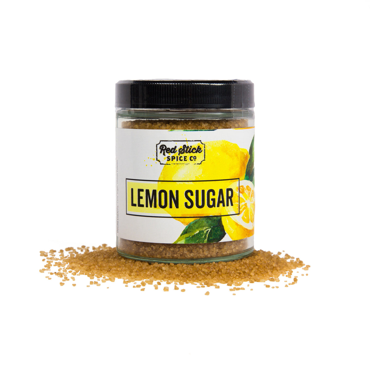 Lemon Sugar - Premium_Spices - Red Stick Spice Company