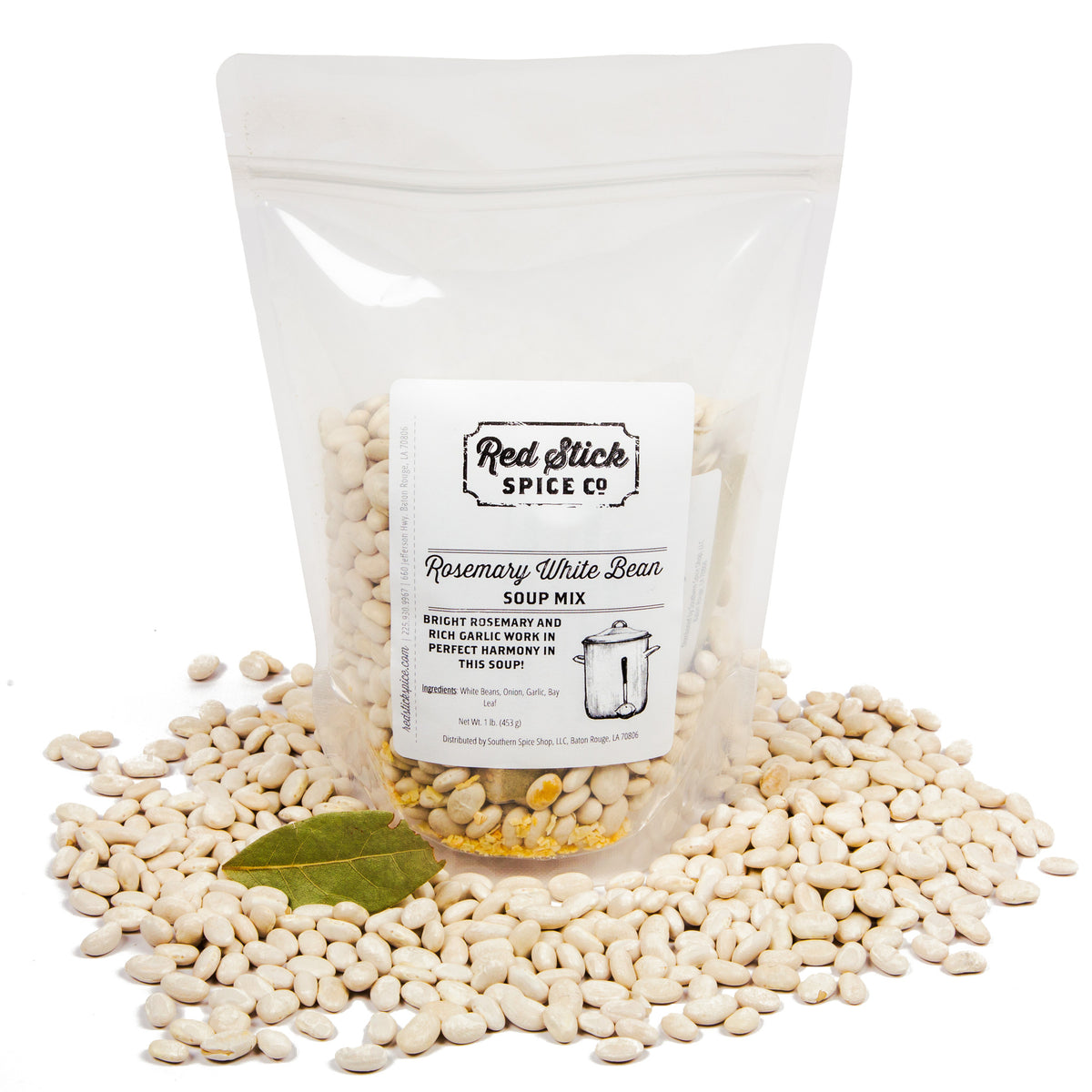 Rosemary White Bean Soup Mix - Louisiana Products - Red Stick Spice Company