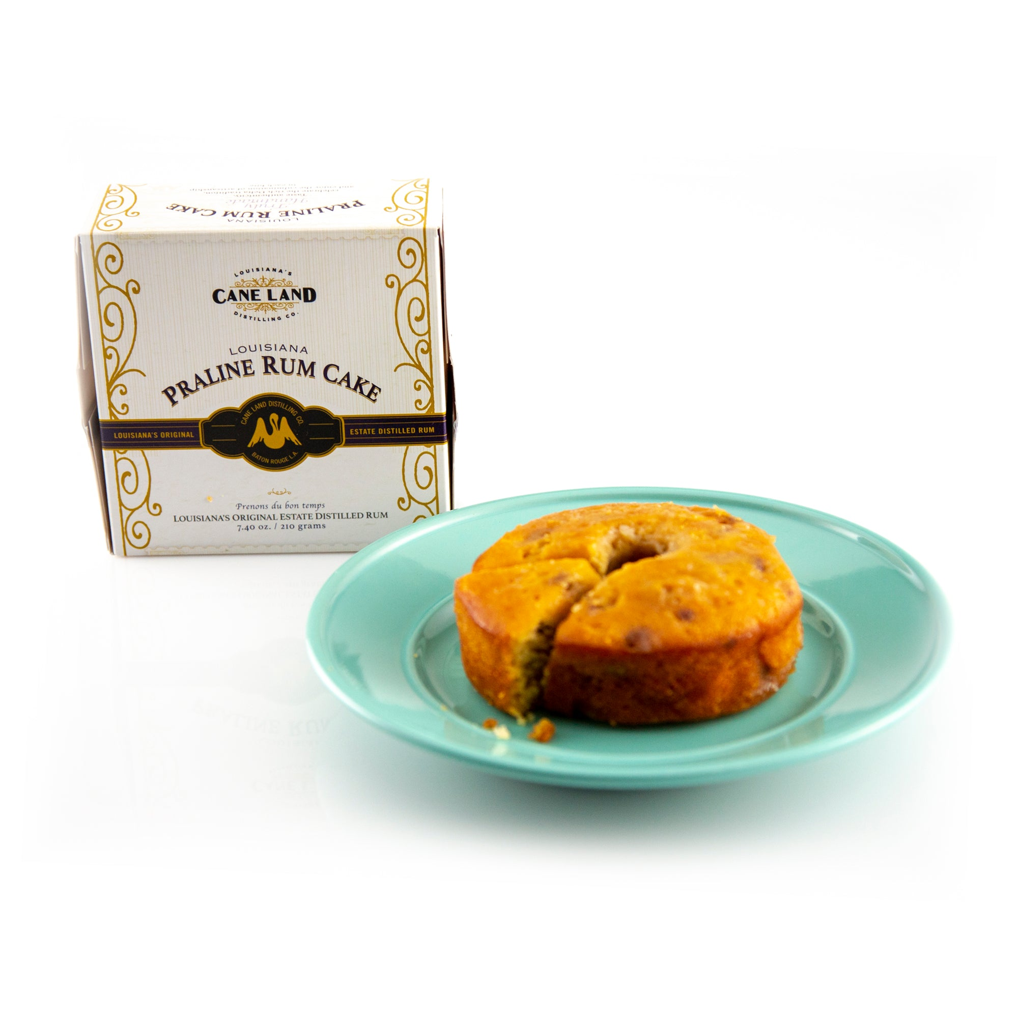 Caneland Praline Rum Cake - Premiere_Louisiana Products - Red Stick Spice Company