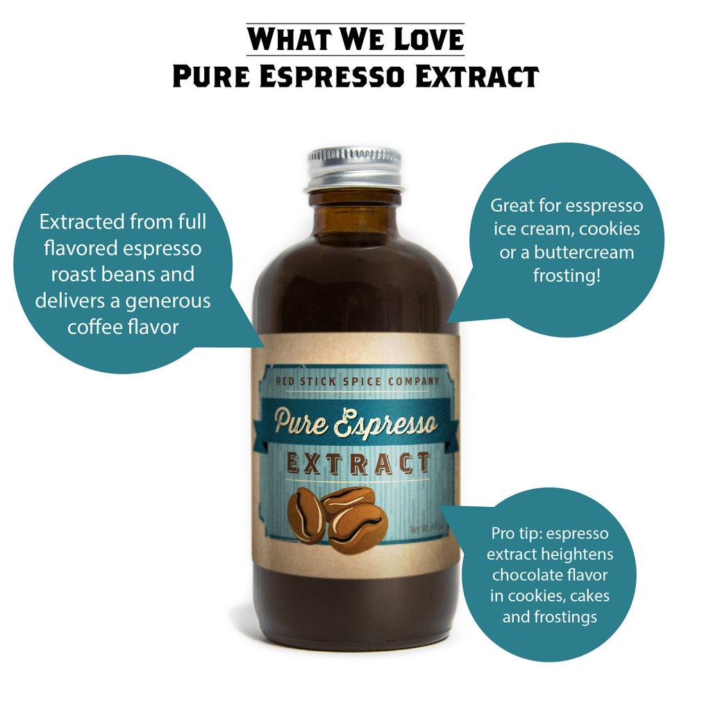 Pure Espresso Extract - Extracts - Red Stick Spice Company