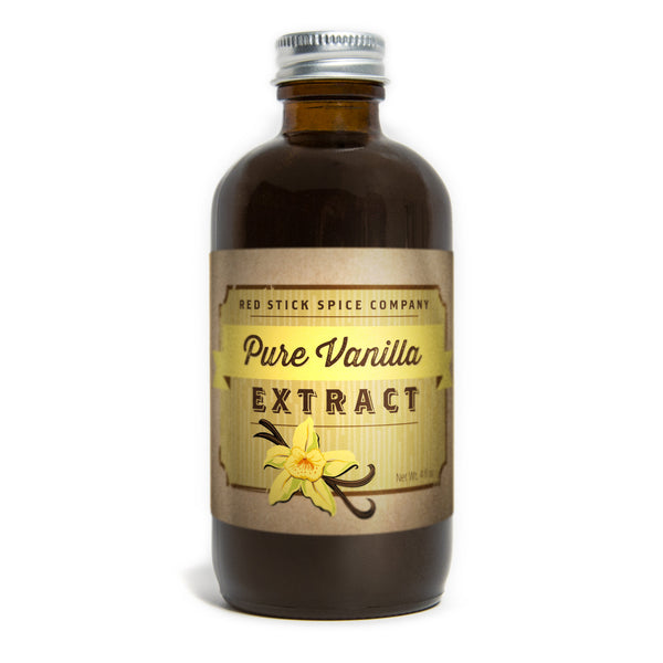 Pure Bourbon Vanilla Extract - Premium_Extracts - Red Stick Spice Company