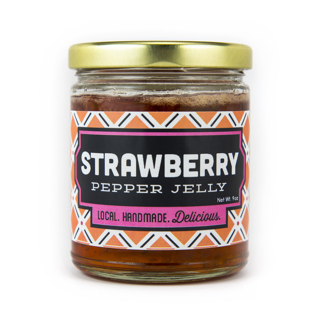 Louisiana Sweet Strawberry Pepper Jelly