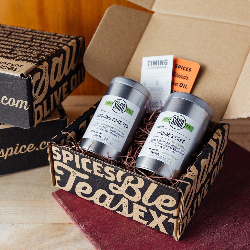 Goin' to the Chapel Tea Gift Box - Premium_Gift Boxes - Red Stick Spice Company