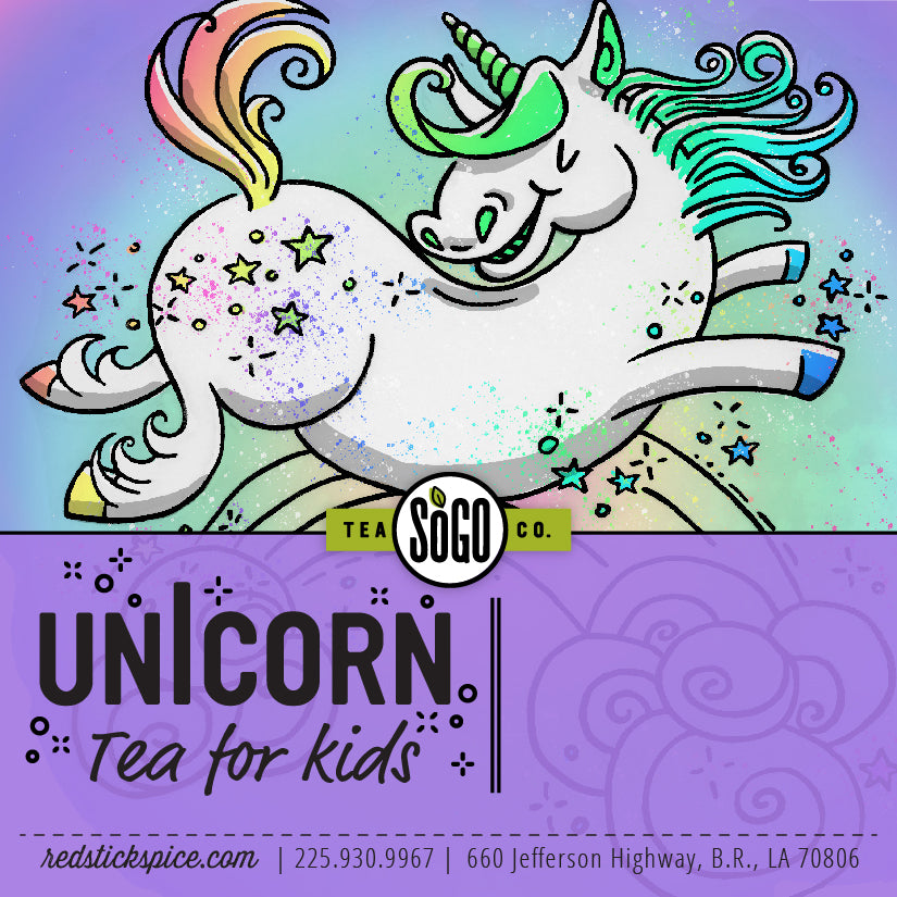 Unicorn Herbal Tea for Kids