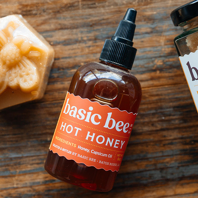 Basic Bee Hot Honey - Premiere_Louisiana Products - Red Stick Spice Company