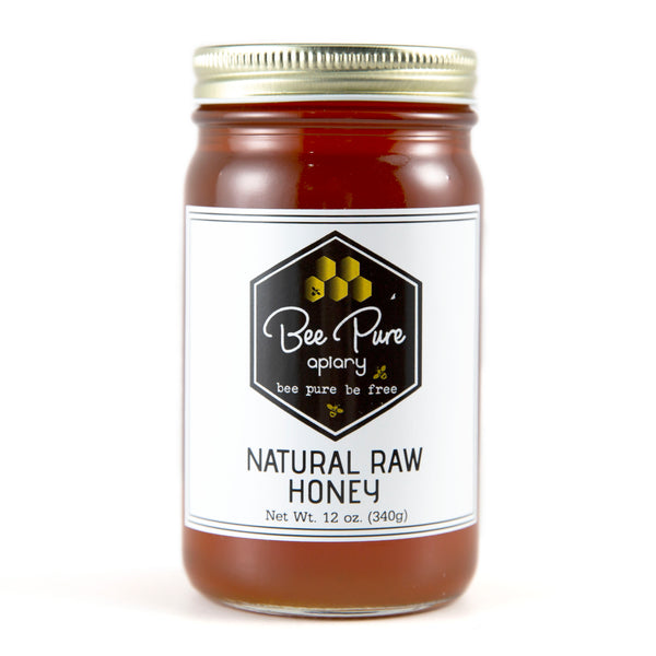 Bee Pure Apiary Natural Raw Honey