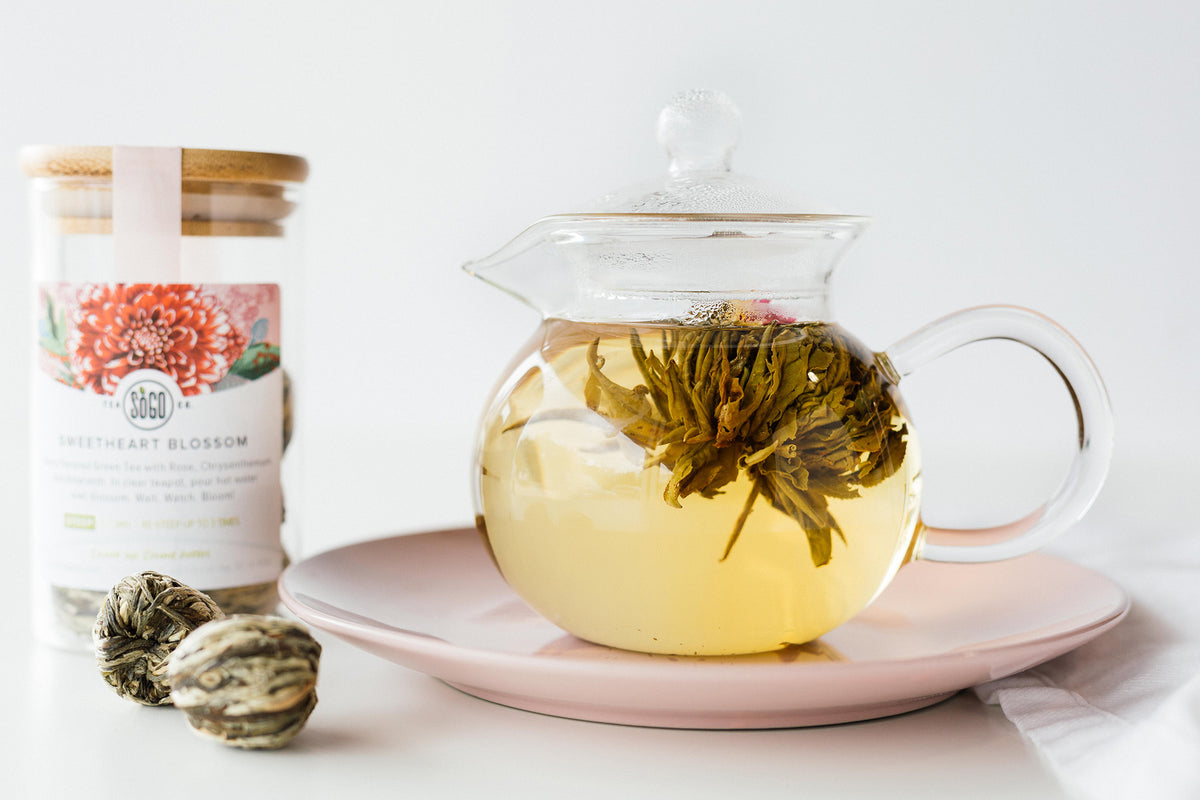 Sweetheart Blossom Blooming Tea - Tea - Red Stick Spice Company