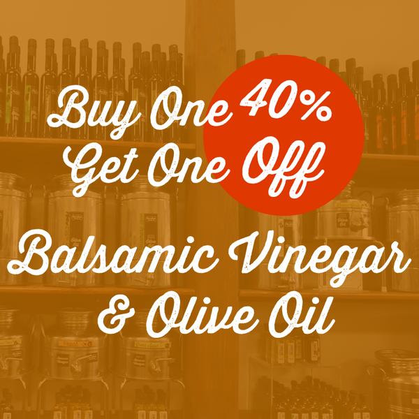 Buy One, Get One 40% Off Oils & Balsamics