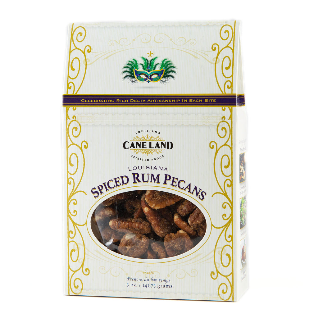 Caneland Spiced Rum Pecans - Premiere_Louisiana Products - Red Stick Spice Company