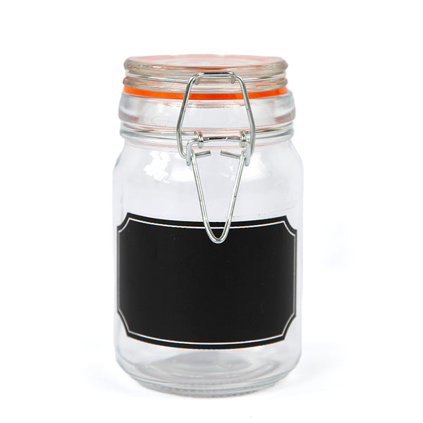 Chalkboard Bale Jar - Accessories - Red Stick Spice Company