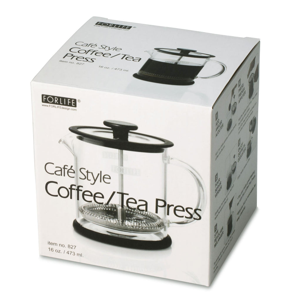 Glass Coffee + Tea Press