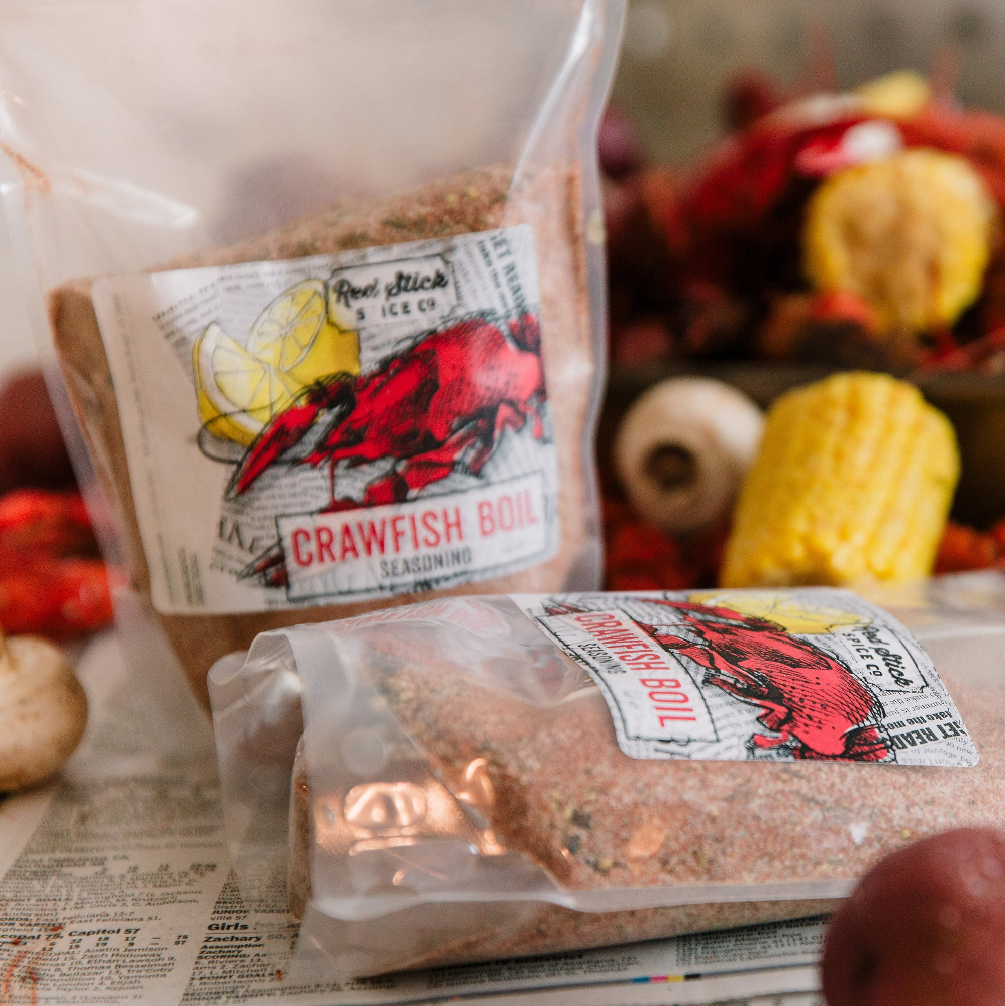 Crawfish Boil Seasoning Blend - Louisiana Products - Red Stick Spice Company