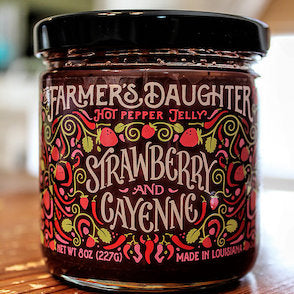 Farmer's Daughter Pepper Jelly - Louisiana Products - Red Stick Spice Company