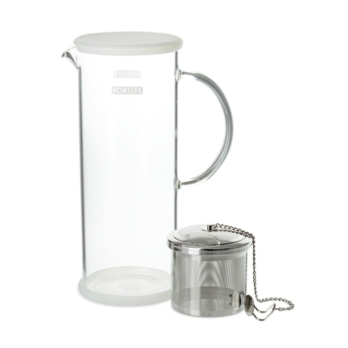 Lucent Tea Jug with Capsule Infuser - Teaware - Red Stick Spice Company