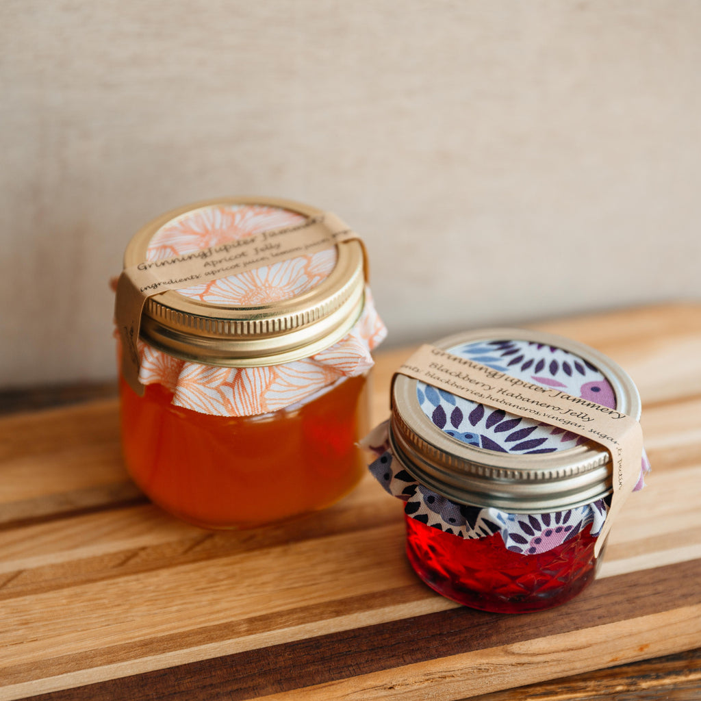 Grinning Jupiter Jammery Jellies - Louisiana Products - Red Stick Spice Company