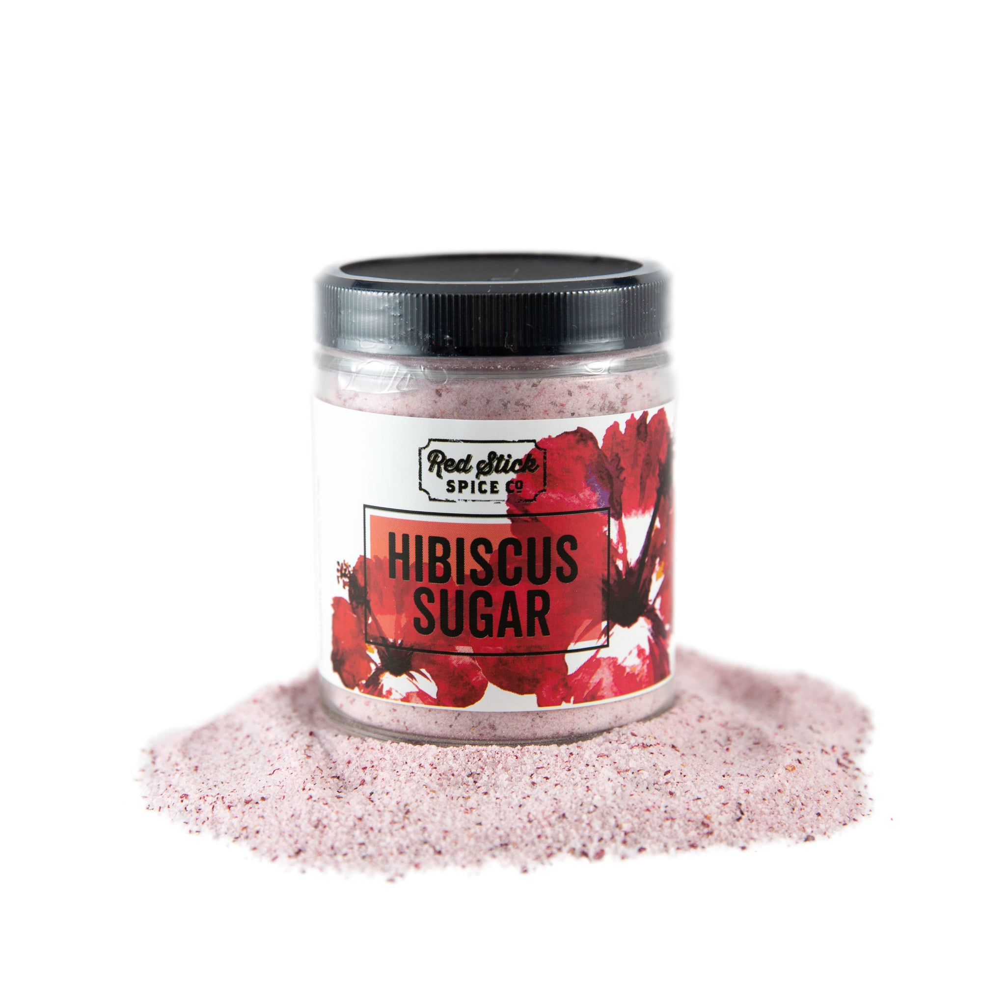 Hibiscus Sugar - Premium_Tea - Red Stick Spice Company