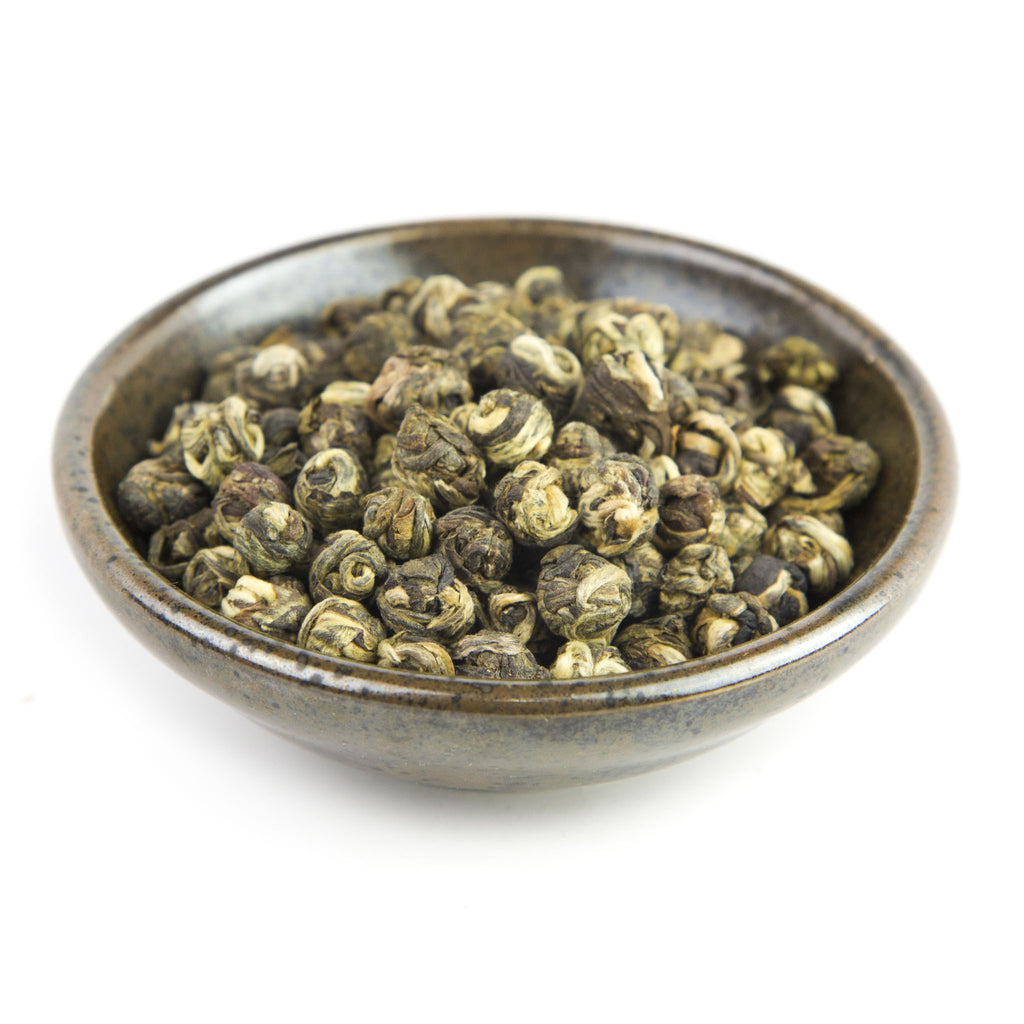 Jasmine Pearls Green Tea Bowl