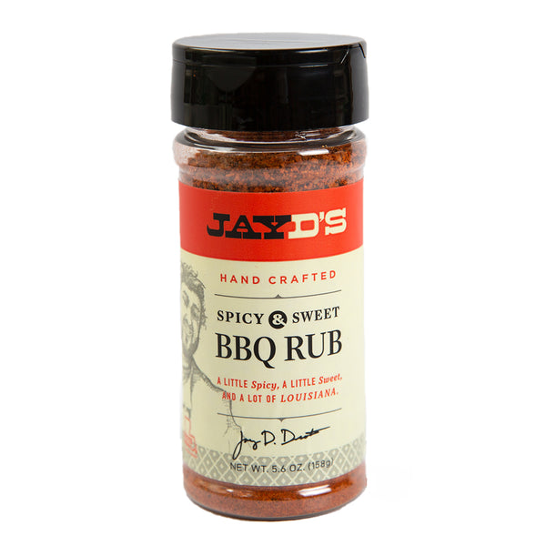 Jay D's Spicy & Sweet BBQ Rub