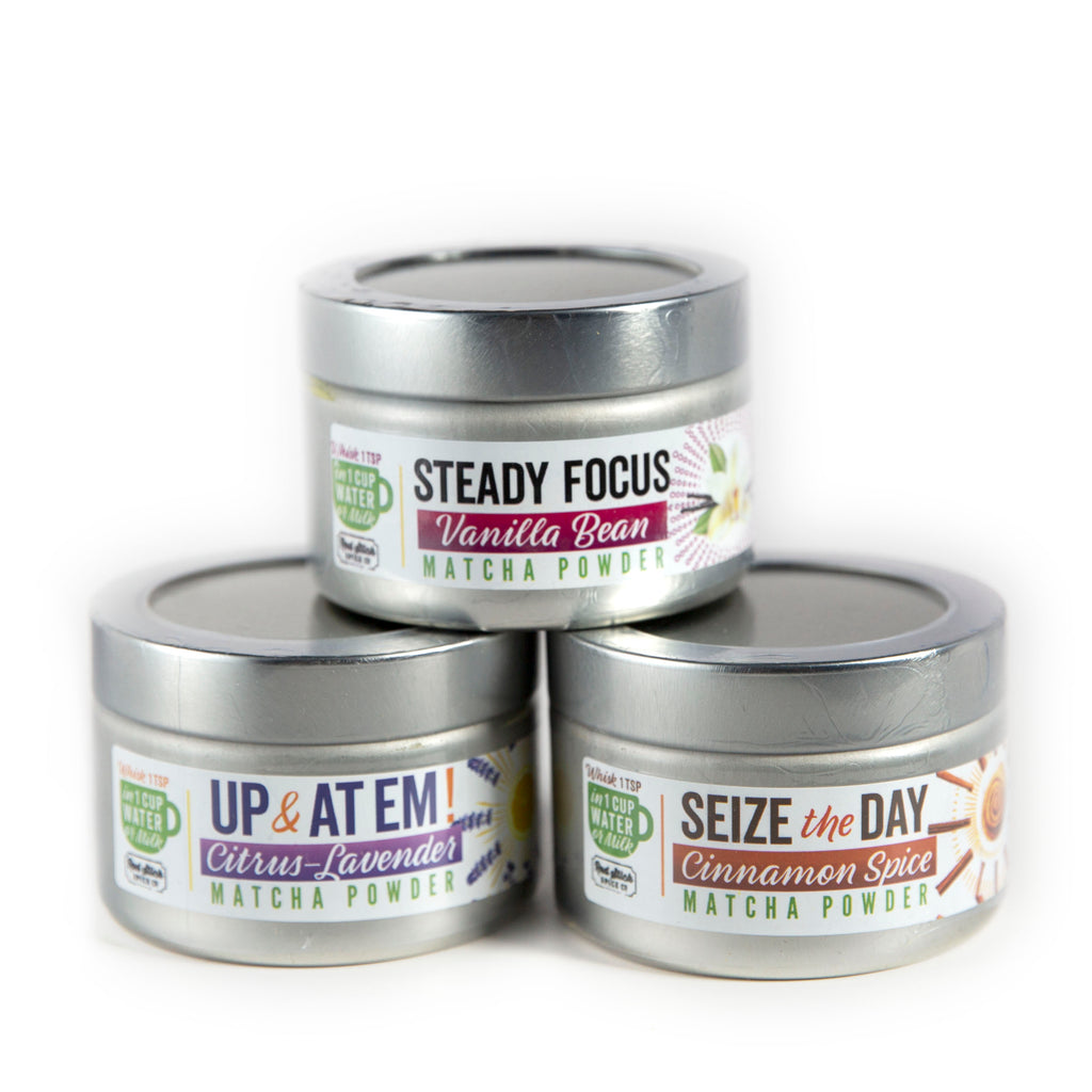 Steady Focus Vanilla Matcha Blend - Tea - Red Stick Spice Company