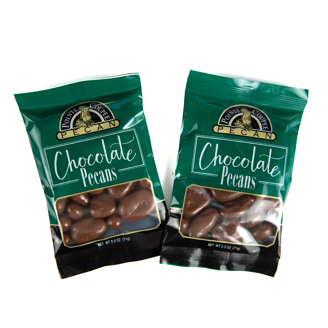 Pointe Coupee Roasted Chocolate Covered Pecans