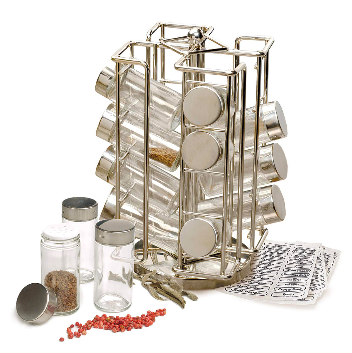 Revolving Countertop Spice Rack - Premium_Accessories - Red Stick Spice Company