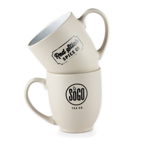 SoGo Red Stick Spice Ceramic Mug - Teaware - Red Stick Spice Company
