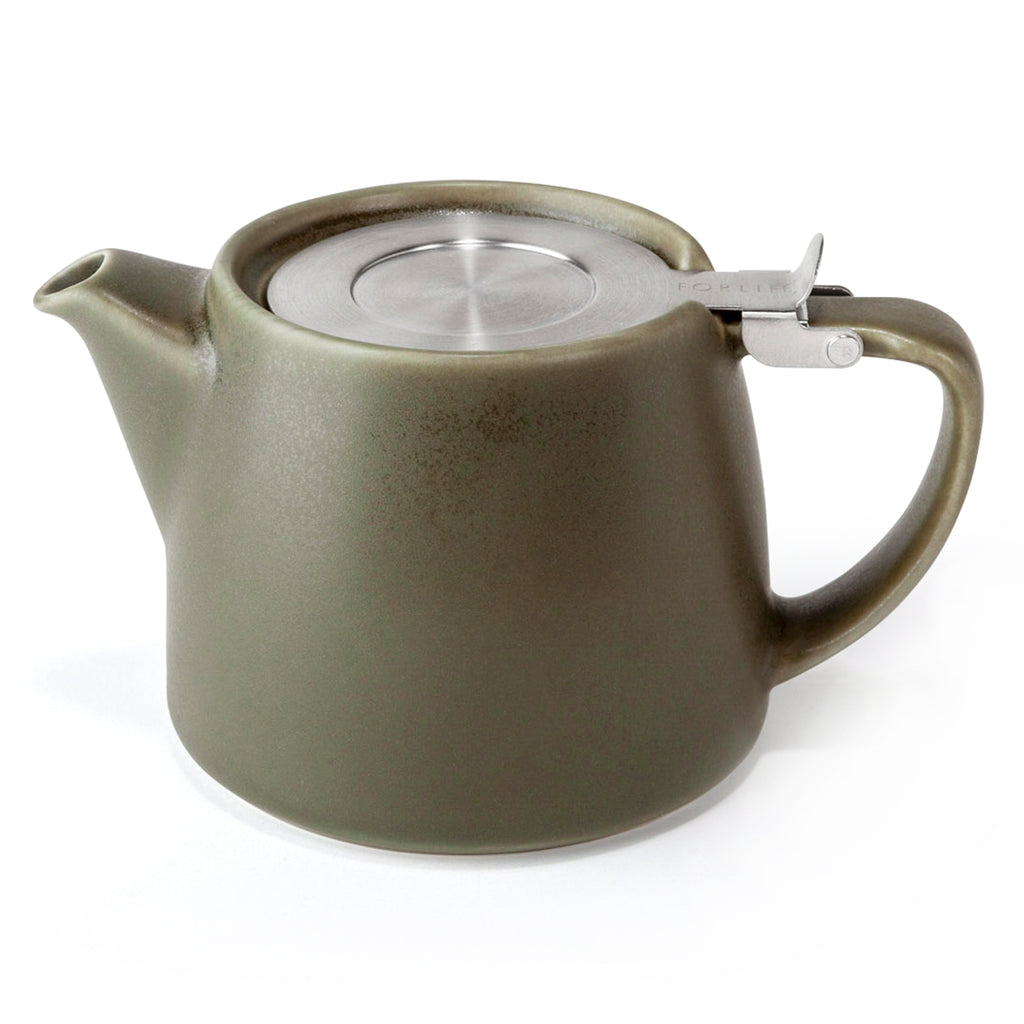 Ceramic Stump Teapot - Teaware - Red Stick Spice Company