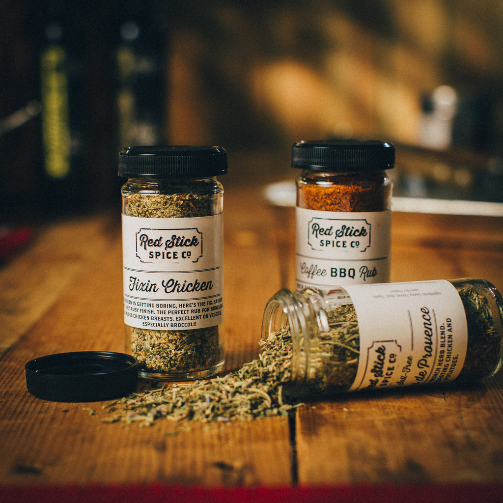 The Stuff with No Salt - Andy Roos - Red Stick Spice Company