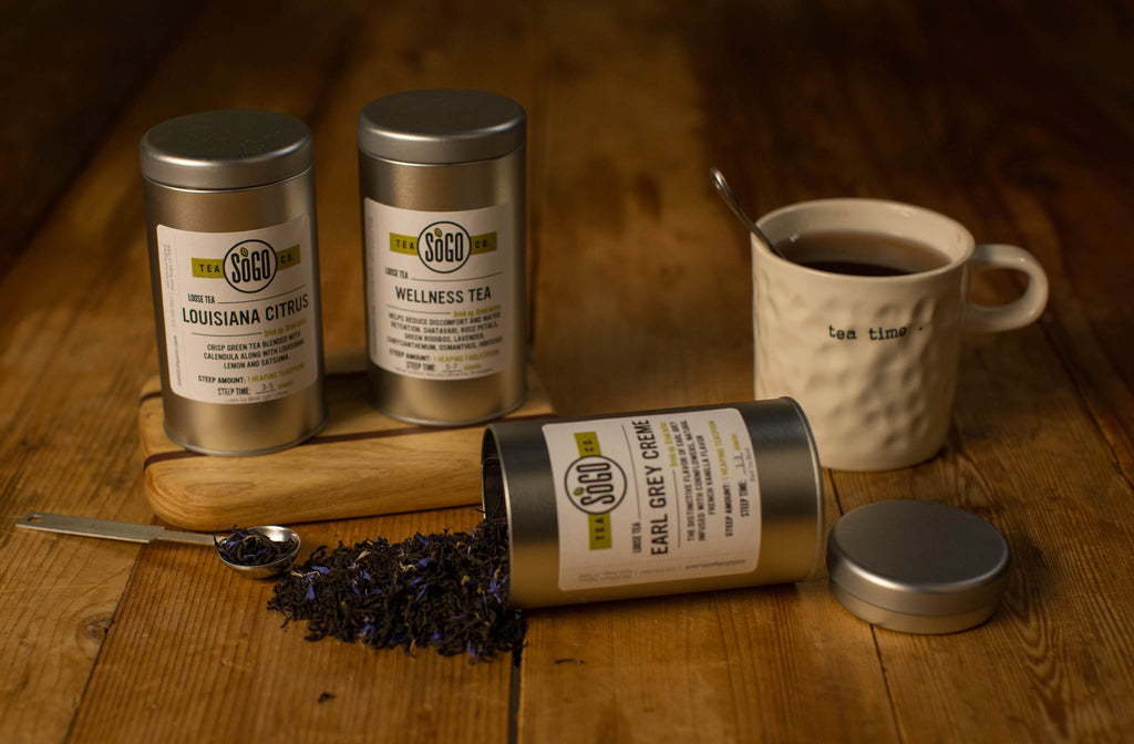 Lemon Mint Lavender Mate Tea - Tea - Red Stick Spice Company