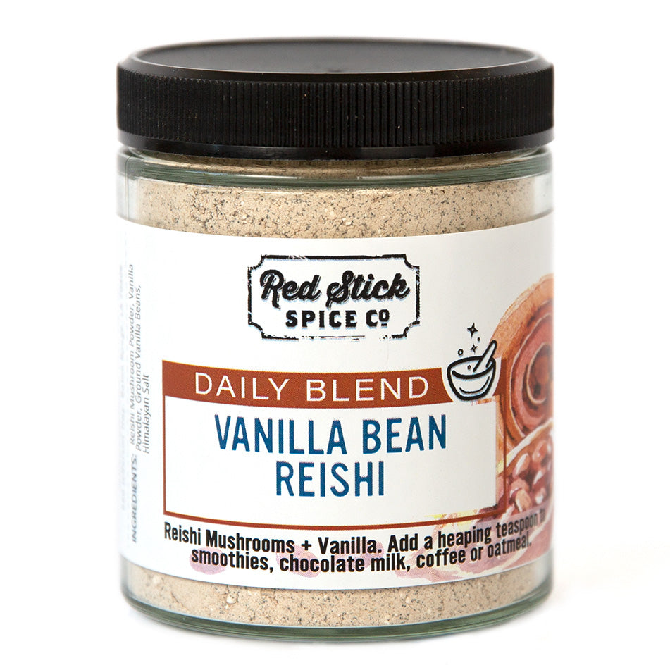 Vanilla Bean Reishi Daily Blend - Spice Blends - Red Stick Spice Company