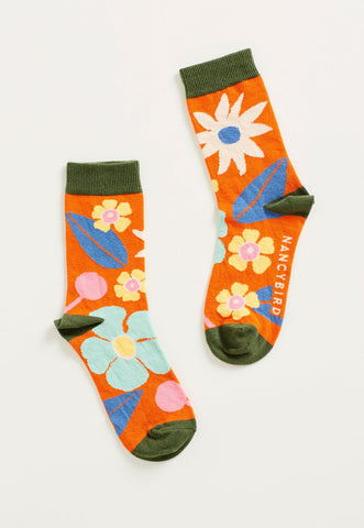 Summertime Floral Socks