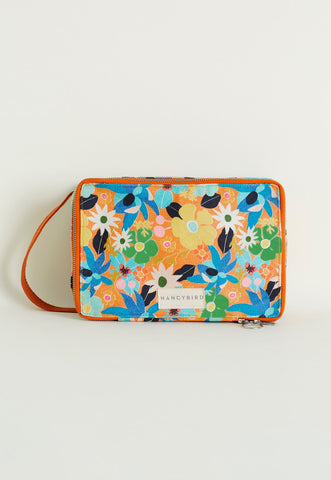 Summertime Floral  Wash Bag