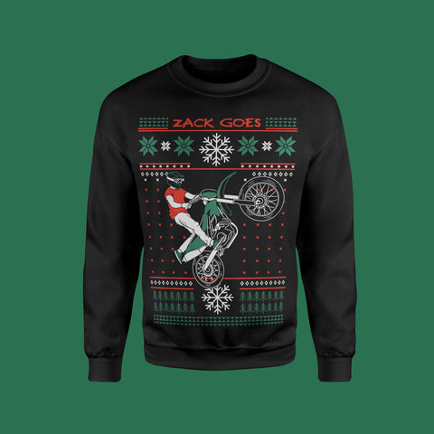 Ugly Wheelie Sweater (Black)