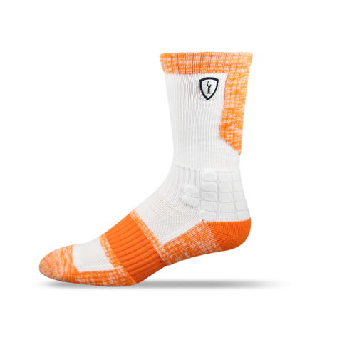 Adrenaline Strife Sock White/Orange
