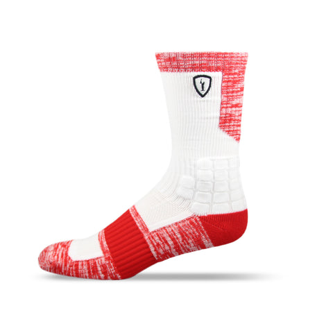 Adrenaline Strife Sock White/Red