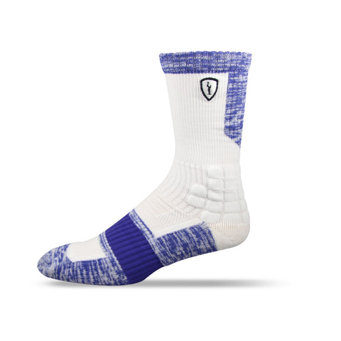 Adrenaline Strife Sock White/Royal