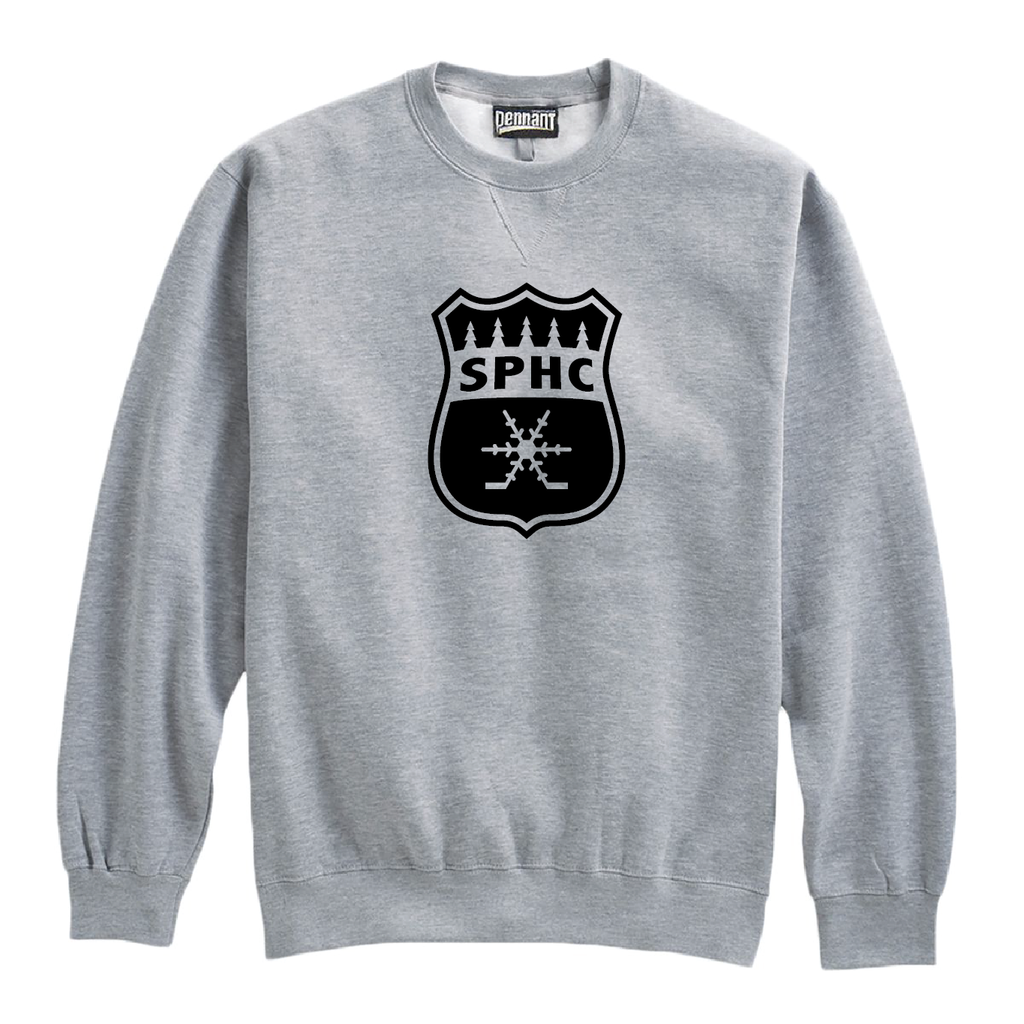 TEAM-SPHC Pennant Crewneck Grey