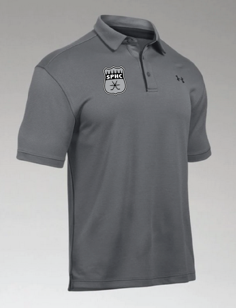 TEAM-SPHC UA Men's Tech Polo Grey