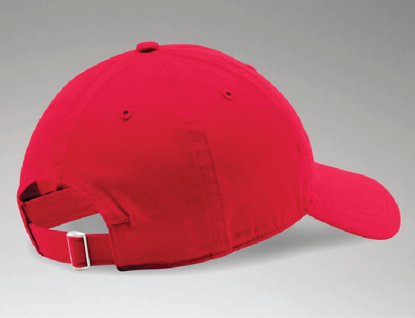 TEAM-BSM UA Adjustable Relaxed Chino Hat Red