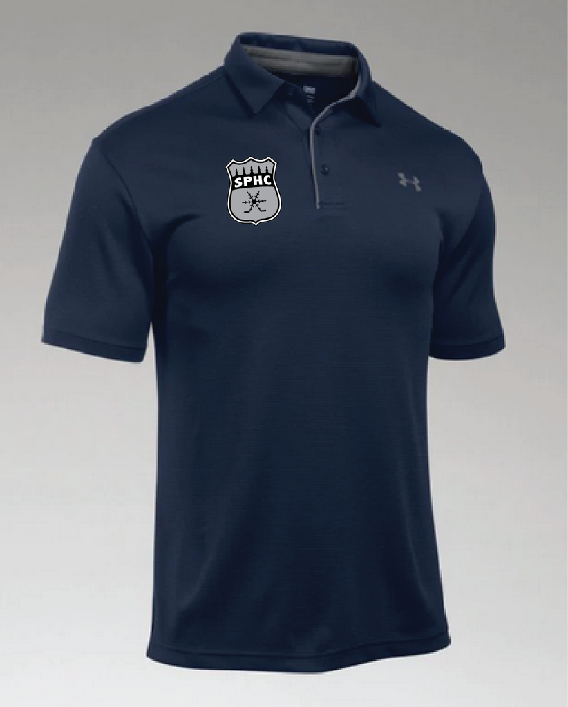 TEAM-SPHC UA Men's Tech Polo Navy