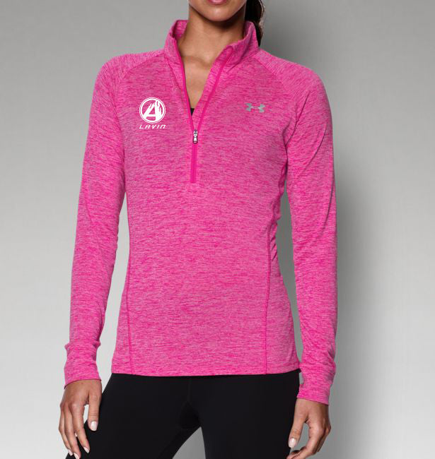 Under Armour Women's 1/4 Zip Twist Long Sleeve