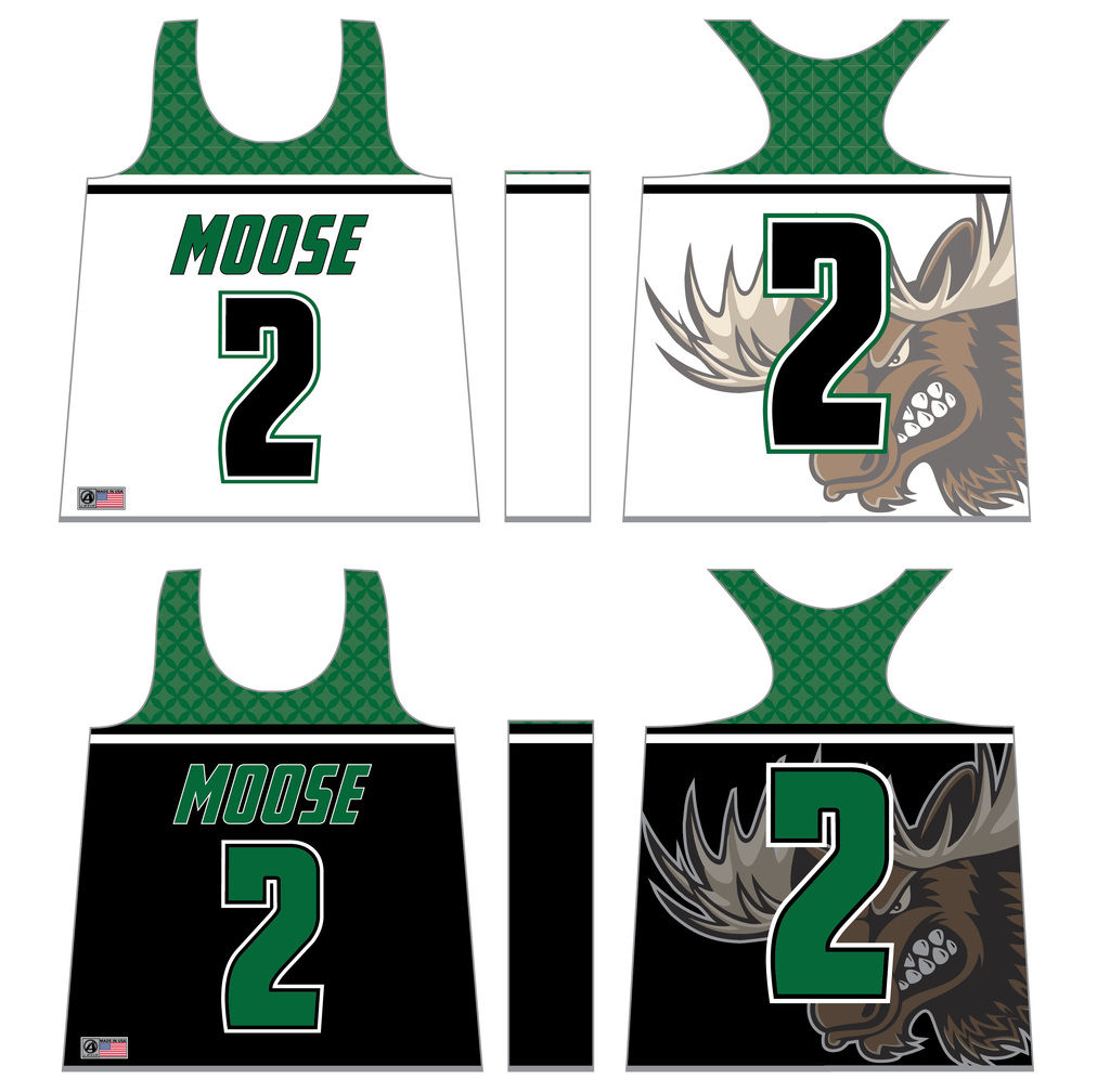 TEAM-MOOSE Women's/Girl's Sublimated Reversible