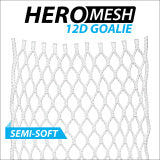 East Coast Dyes 12D Hero Goalie Semi-Soft Mesh