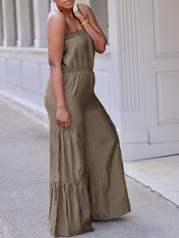 Bandeau Wide-Leg Jumpsuit