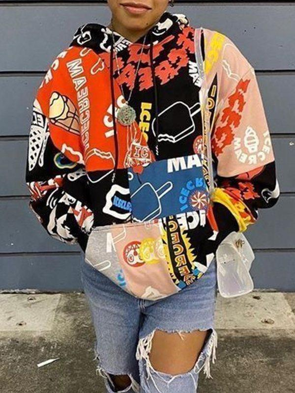 Cartoon Combo Sweatshirt