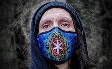 Load image into Gallery viewer, Flower of Life Face Mask