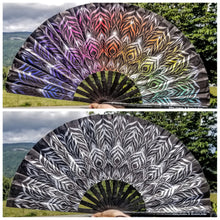 Load image into Gallery viewer, Mandala Hand Fan
