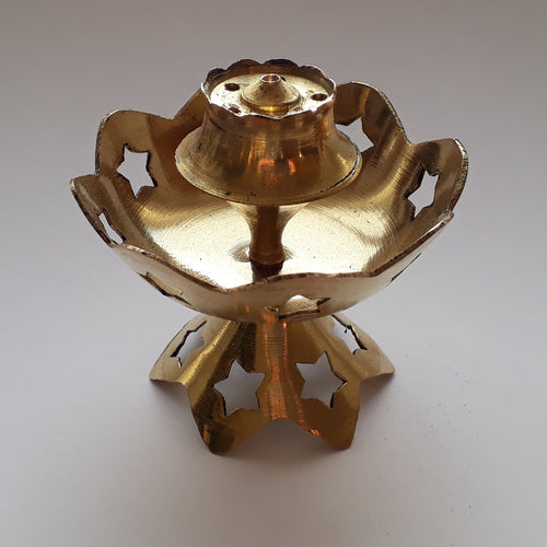 Brass Incense Burner - Thyme for U