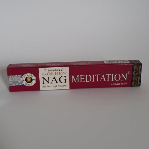 Golden Nag Meditation Agarbathi Incense sticks - Thyme for U