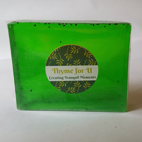 Handmade Tea Tree and Mint Soap - Thyme for U